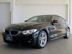 BMW420iグランクーペ Mスポーツ OPLEDヘッド 黒革