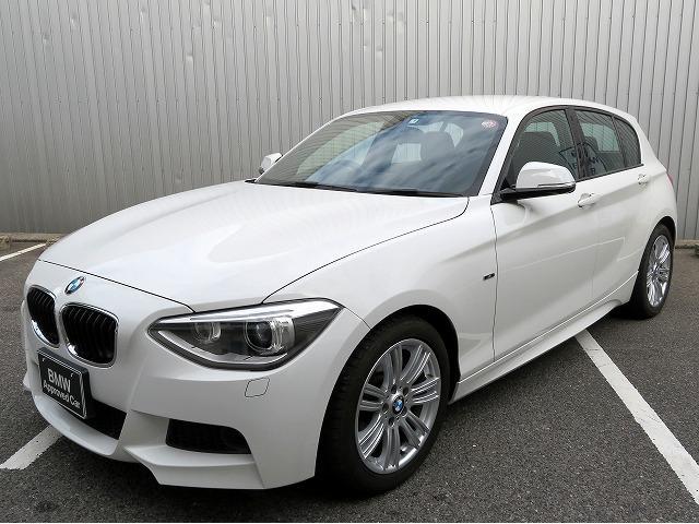 BMW 1シリーズ 116i Mスポーツ コンフォートパッケージG パーキングサポートパッケージ キセノンヘッドライト 17インチアルミ リアパークディスタンスコントロール iDriveナビ リアビューカメラ 純正ETC