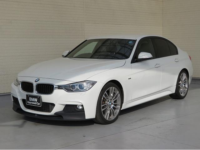 BMW 320i Mスポーツ 6速MT M Sportブレーキ M Perfomanceフロントスポイラー キセノン 19AW リアPDC コンフォートアクセス 純正ナビ iDriveナビ リアビューカメラ 純正ETC 認定中古車