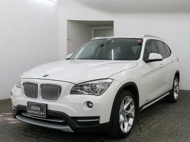 BMW X1 sDrive 18i xライン キセノン 18インチアルミ コンフォートアクセス 純正ナビ iDriveナビ 地デジ フルセグ リアビューカメラ 純正ETC 認定中古車