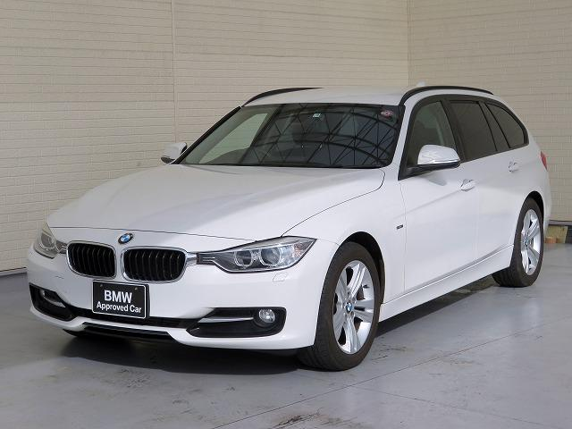 BMW 3シリーズ 320dツーリング スポーツ キセノンヘッドライト 17インチアルミ リアPDC オートトランク コンフォートアクセス 純正ナビ リアビューカメラ 純正ETC 車線逸脱防止機能 クルーズコントロール 認定中古車