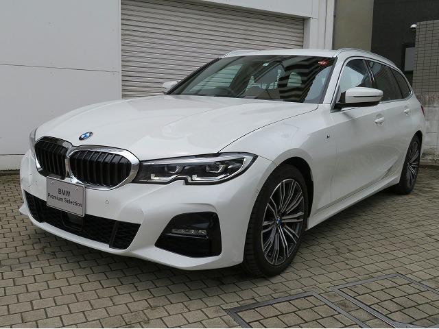 BMW 320dxDriveツーリングMスポーツハイラインP コンフォートPKG LEDヘッドライト 18AW Aトランク スマートキー 純正ナビ リアビューカメラ 純正TEC アクティブクルーズコントロール レーンチェンジ ライブコックピット