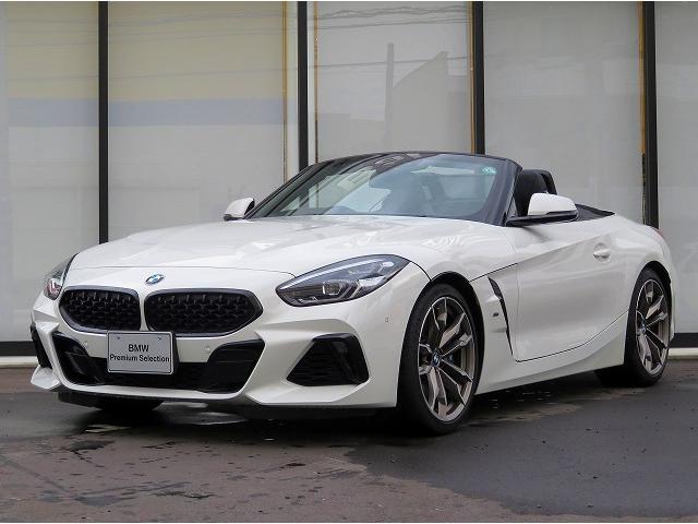 BMW Z4 M40i LEDヘッドライト 19AW コンフォートアクセス 黒革 純正ナビ リアビューカメラ ハーマンカードンサウンドシステム 純正ETC アクティブクルーズ コントロール 認定中古車