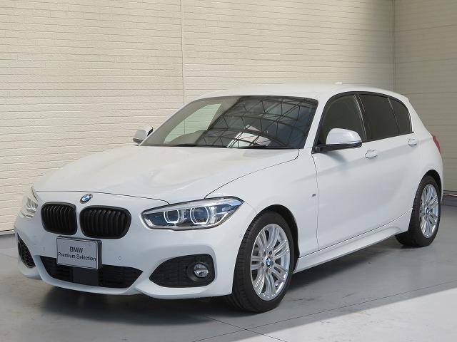 BMW 1シリーズ 118i Mスポーツ コンフォートPKG LEDヘッドライト 17AW PDC 純正ナビ Bカメラ アクティブクルーズコントロール レーンディパーチャーウォーニング アドバンスドパーキングサポートPKG