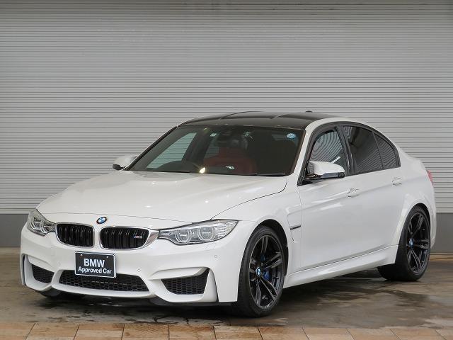 BMW M3 M3 LEDヘッドライト 19AW コンフォートアクセス レッドレザー 純正ナビ フルセグ リアビューカメラ ヘッドアップディスプレイ 純正ETC レーンチェンジ ディパーチャーウォーニング クルコン