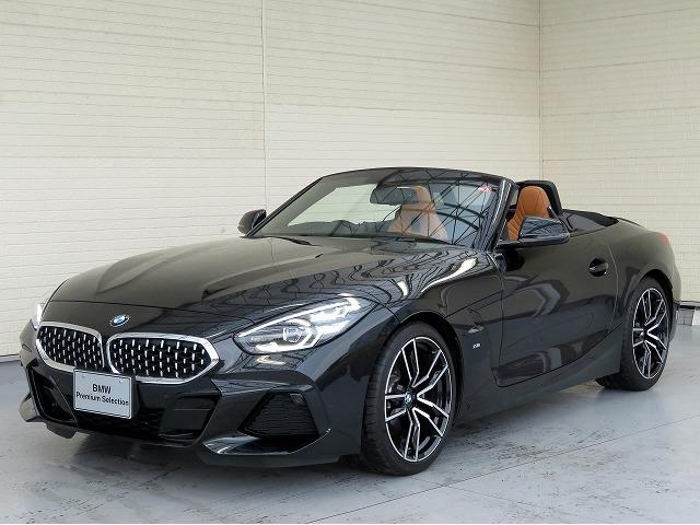 BMW Z4 sDrive20i Mスポーツ イノベーションPKG コニャックヴァーネスカレザー LEDライト 19インチアルミ ヘッドアップディスプレイ アクティブクルーズコントロール レーンチェンジ&ディパーチャーウォーニング 認定中古車