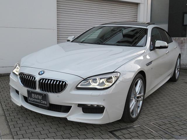 BMW 6シリーズ 640iグランクーペ Mスポーツ LEDヘッドライト 20AW サンルーフ コンフォートアクセス 黒革 マルチメーター 純正ナビ フルセグ リアビューカメラ 純正ETC アクティブクルーズコントロール 認定中古車