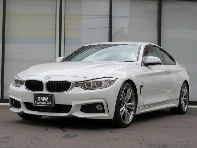 BMW 420iクーペ Mスポーツ 認定中古車 キセノン 19AW コンフォートアクセス 赤革 シートヒーター 純正ナビ iDriveナビ リアビューカメラ 純正ETC アクティブクルーズコントロール レーンディパーチャーウォーニング