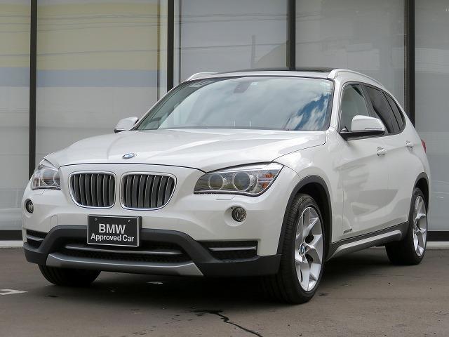 BMW X1 sDrive 20i xライン 認定中古車 18AW パノラマガラスサンルーフ コンフォートアクセス 純正ナビ iDriveナビ リアビューカメラ 純正ETC