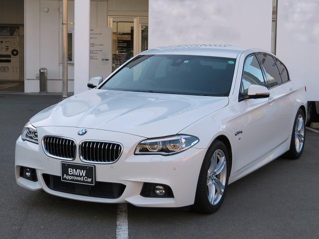 BMW 523d Mスポーツ 認定中古車 LEDヘッドライト 18AW コンフォートアクセス 純正ナビ iDriveナビ フルセグ リアビューカメラ 純正ETC アクティブ クルーズ コントロール レーンディパーチャーウォーニング