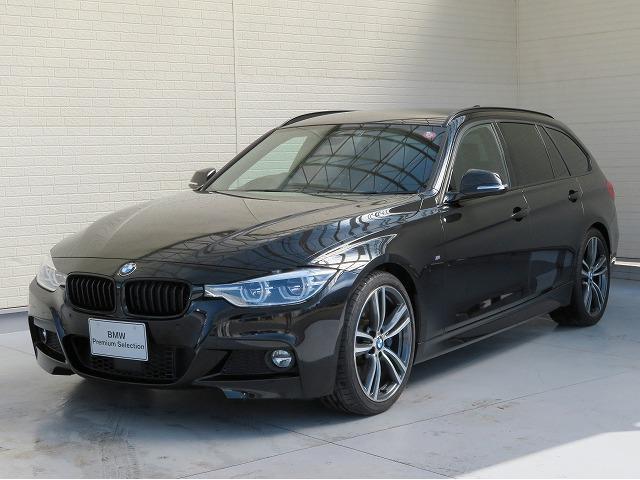 BMW 3シリーズ 340iツーリング Mスポーツ 認定中古車 LEDヘッドライト 19AW オートトランク コンフォートアクセス 黒革 純正ナビ フルセグ リアビューカメラ ヘッドアップディスプレイ 純正ETC アクティブクルーズコントロール