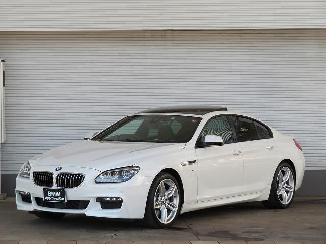 BMW 6シリーズ 640iグランクーペ Mスポーツ LEDヘッドライト 19AW サンルーフ コンフォートアクセス 黒革 純正ナビ フルセグ リアビューカメラ ヘッドアップディスプレイ 純正ETC アクティブクルーズコントロール 車線逸脱 認定中古車