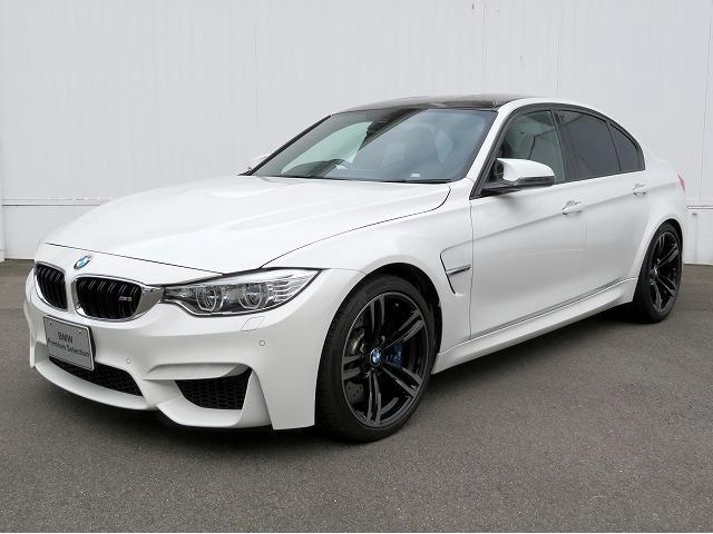 BMW M3 黒革 19インチアルミ クルーズコントロール ヘッドアップディスプレイ バックカメラ フルセグ スマートキー アダプティブMサス 認定中古車