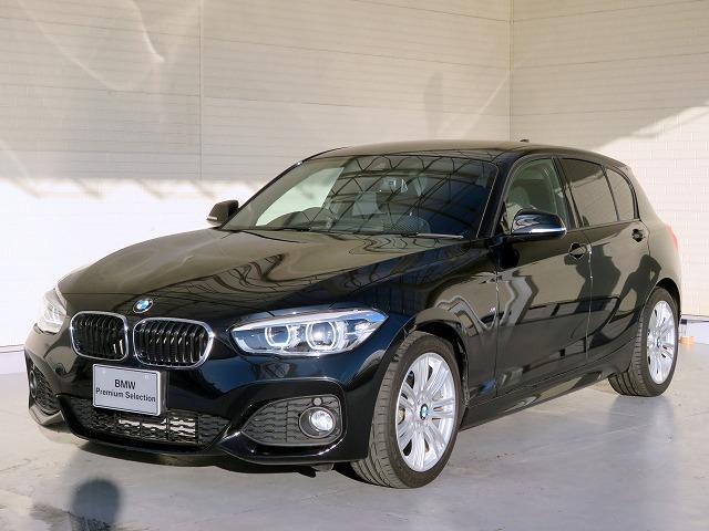 BMW 118d Mスポーツ LEDヘッドライト 17AW パーキングサポートPKG リアPDC 純正ナビ iDriveナビ リアビューカメラ