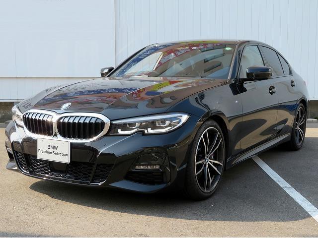 BMW 330i Mスポーツ LEDヘッドライト 19AW オートトランク コンフォートアクセス レザーシート ブラックレザー 純正ナビ リアビューカメラ 純正ETC アクティブクルーズコントロール ストップ ゴー 車線逸脱