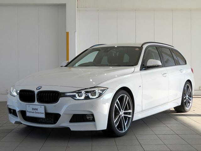 BMW 318iツーリング Mスポーツ エディションシャドー LEDヘッドライト 19AW PDC オートトランク ブラックレザー マルチディスプレイメーター 純正ナビ Bカメラ 純正ETC レーンチェンジ&ディパーチャーウォーニング