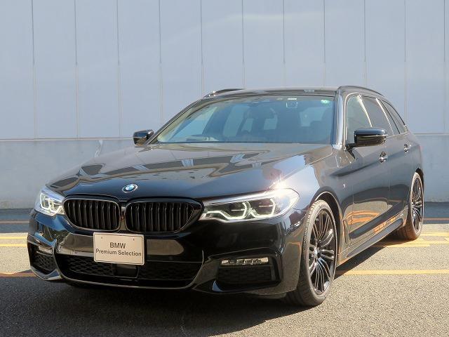 BMW 5シリーズ 523iツーリングエディションミションインポッシブル LEDヘッドライト 19AW PDC オートトランク コンフォートアクセス 純正ナビ 地デジ フルセグ トップ リアビューカメラ harman kardonサウンドシステム 純正ETC 認定中古車