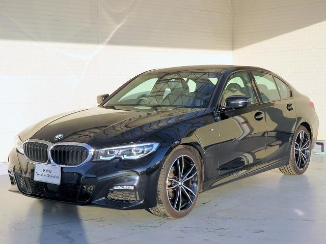 BMW 3シリーズ 320d xDrive Mスポーツ コンフォートPKG LEDヘッドライト 19インチアルミ オートトランク コンフォータクセス 黒革 純正ナビ iDriveナビ 地デジ リアビューカメラ アクティブクルーズコントロール 認定中古車