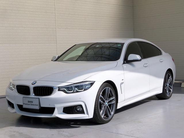 BMW 420iグランクーペ イン スタイル スポーツ LEDヘッドライト 19AW オートトランク コンフォートアクセス レザーシート ブラックレザー マルチディスプレイメーター 純正ナビ 地デジ フルセグ リアビューカメラ ヘッドアップディスプレイ