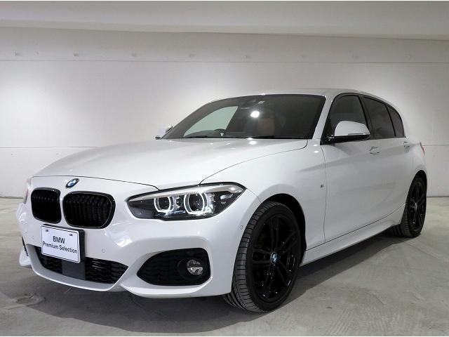 BMW 118d Mスポーツ エディションシャドー レザーインテリア バックカメラ オートクルーズコントロール 純正ETC レーンディパーチャーウォーニング LEDライト 18インチアルミ PDC スマートキー 認定中古車