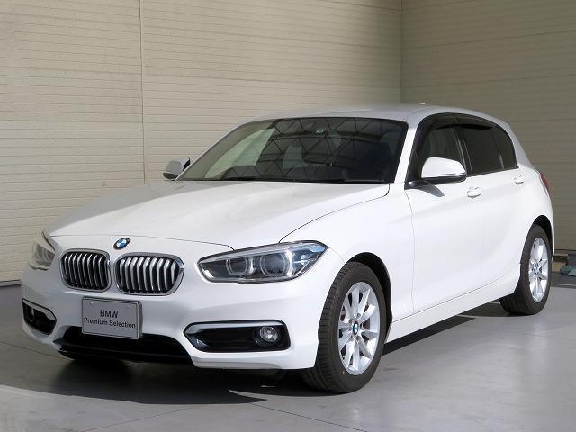 BMW 118i スタイル コンフォートPKG LEDヘッドライト 16AW パーキングサポートPKG リアPDC コンフォートアクセス 純正ナビ iDriveナビ 地デジ フルセグ リアビューカメラ 純正ETC 認定中古車