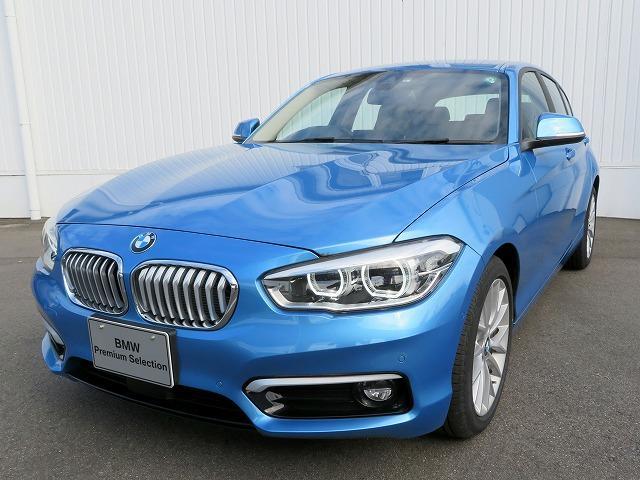 BMW 118i ファッショニスタ LEDヘッドライト 17AW PDC コンフォートアクセス レザーシート 純正ナビ iDriveナビ リアビューカメラ HiFiスピーカー 純正ETC アクティブ クルーズ コントロール 認定中古車