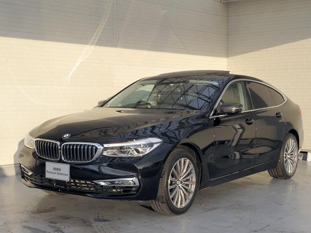 BMW 6シリーズ 630i グランツーリスモ ラグジュアリー コンフォートPKG LEDヘッドライト 19AW サンルーフ パノラマガラスSR ソフトクローズドア オートトランク スマートキー 黒革 純正ナビ フルセグ トップ リアビューカメラ 認定中古車
