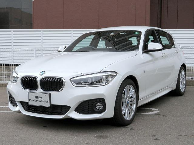BMW 118d Mスポーツ LEDヘッドライト 17AW パーキングサポートPKG リアPDC 純正ナビ iDriveナビ リアビューカメラ 純正ETC レーンディパーチャーウォーニング クルーズコントロール 認定中古車