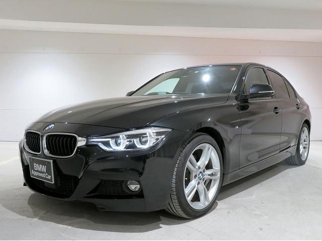 BMW 320i Mスポーツ LEDヘッドライト 18AW リアPDC コンフォートアクセス 純正ナビ iDriveナビ リアビューカメラ 純正ETC アクティブ クルーズ コントロール ストップ ゴー 車線逸脱防止 認定中古車