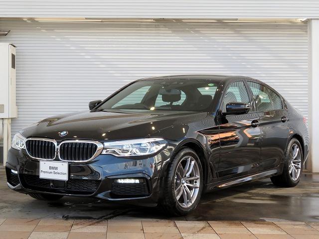 BMW 5シリーズ 523d xDrive Mスピリット LEDヘッドライト 18AW コンフォートアクセス 純正ナビ iDriveナビ フルセグ トップ リアビューカメラ ヘッドアップディスプレイ 純正ETC アクティブクルーズコントロール 認定中古車