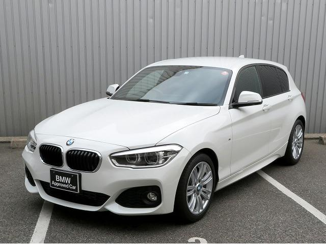 BMW 118i Mスポーツ LEDヘッドライト 17AW 純正ナビ iDriveナビ リアビューカメラ 純正ETC レーンディパーチャーウォーニング クルーズコントロール 認定中古車