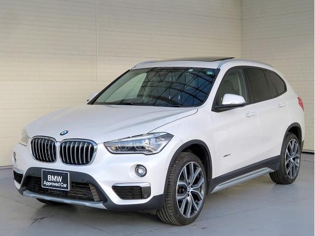BMW sDrive 18i xライン コンフォートPKG LEDヘッドライト 19AW パノラマガラスSR PDC オートトランク コンフォートアクセス 純正ナビ リアビューカメラ 純正ETC レーンディパーチャーウォーニング 認定中古車