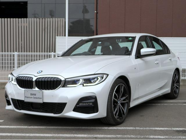 BMW 3シリーズ 320d xDrive Mスポーツ Hi-Line コンフォートPKG レーザーライト ハーマンカードンサラウンドシステム 黒革シート 純正19アルミ ヘッドアップディスプレイ オートトランク アクティブクルーズコントロール 認定中古車