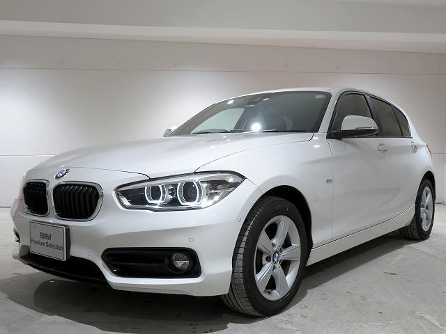 BMW 118d スポーツ 後期内装 LEDヘッドライト 純正16アルミホイール パーキングサポート クルーズコントロール レーンディパチャーウォーニング 純正ナビ バックカメラ ETC PDC 認定中古車