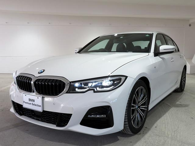 BMW 320i Mスポーツ コンフォートPKG LEDヘッドライト 18AW PDC オートトランク コンフォートアクセス シートヒーター 純正ナビ iDriveナビ トップ リアビューカメラ 純正ETC Aクルコン 認定中古車