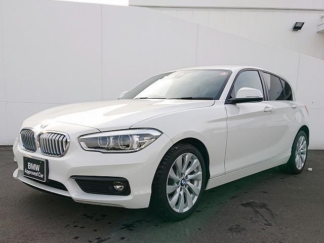 BMW 118i セレブレーションエディション マイスタイル LEDヘッドライト 17AW リアPDC 純正ナビ iDriveナビ リアビューカメラ  純正ETC レーンディパーチャーウォーニング クルーズコントロール センサレザー 認定中古車