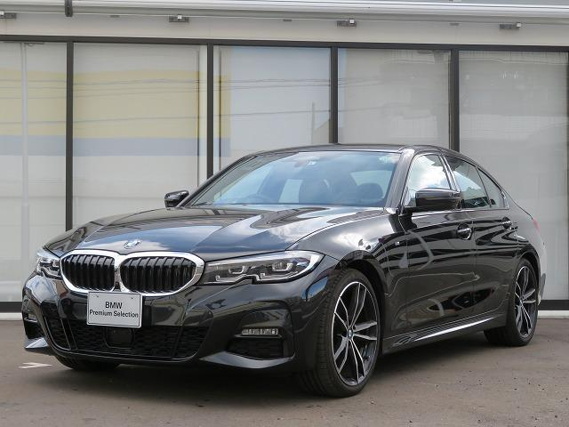 BMW 320d xDrive Mスポーツ コンフォートPKG LEDヘッドライト 19AW PDC オートトランク コンフォートアクセス ブラックレザー 純正ナビ iDriveナビ トップ リアビューカメラ 純正ETC Aクルコン 認定中古車