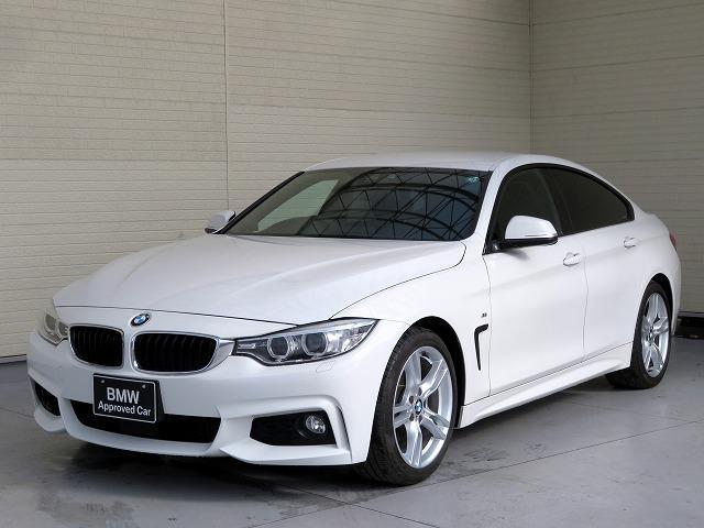 BMW 420iグランクーペ Mスポーツ MS キセノン 18AW リアPDC オートトランク コンフォートアクセス 純正ナビ iDriveナビ リアビューカメラ 純正ETC アクティブ クルーズ コントロール 車線逸脱 認定中古車