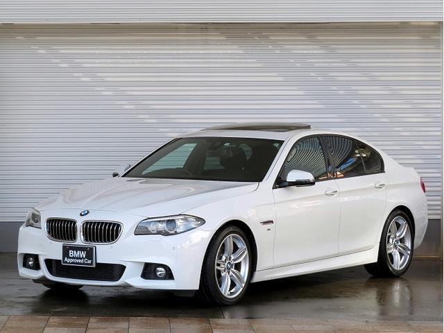 BMW 523i Mスポーツ MS キセノン 19AW サンルーフ ガラスSR PDC コンフォートアクセス 純正ナビ iDriveナビ 地デジ フルセグ リアビューカメラ 純正ETC 車線逸脱 クルーズコントロール 認定中古車
