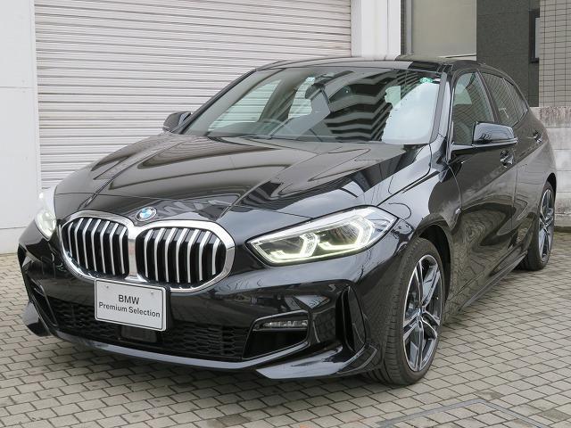 BMW 118i Mスポーツ コンフォートPKG 18AW PDC オートトランク コンフォートアクセス 純正ナビ iDriveナビ リアビューカメラ 純正ETC アクティブ クルーズ コントロール ストップ ゴー 認定中古車