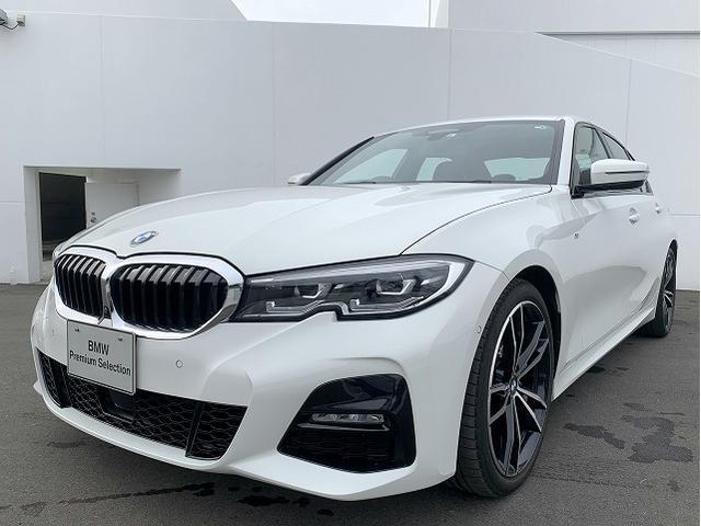 BMW 3シリーズ 320i Mスポーツ コンフォートPKG LEDヘッドライト 19AW PDC オートトランク コンフォートアクセス レザーシート ブラックレザー 純正ナビ トップ リアビューカメラ 純正ETC Aクルコン 認定中古車