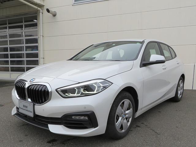 BMW 118i プレイ LEDヘッドライト 16AW PDC コンフォートアクセス 純正ナビ iDriveナビ リアビューカメラ 純正ETC レーンディパーチャー ウォーニング 認定中古車