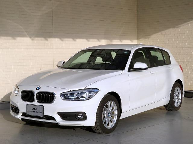 BMW 118i コンフォートPKG LEDヘッドライト 16AW パーキングサポートPKG リアPDC コンフォートアクセス 純正ナビ iDriveナビ リアビューカメラ 純正ETC 認定中古車