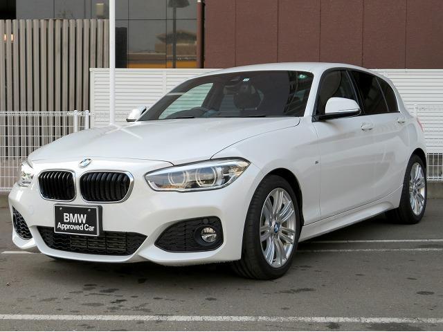 BMW 118i Mスポーツ コンフォートPKG LEDライト 17AW パーキングサポートPKG リアPDC コンフォートアクセス iDriveナビ Bカメラ レーンディパーチャーウォーニング クルーズコントロール 認定中古車