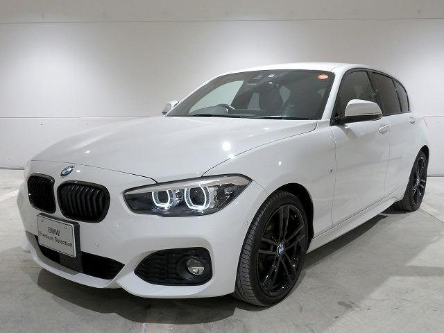 BMW 1シリーズ 118d Mスポーツ エディションシャドー LEDヘッドライト 18AW コンフォートアクセス レザーシート ブラックレザー 純正ナビ Driveナビ リアビューカメラ 純正ETC アクティブ クルーズ コントロール ストップ ゴー 認定中古車