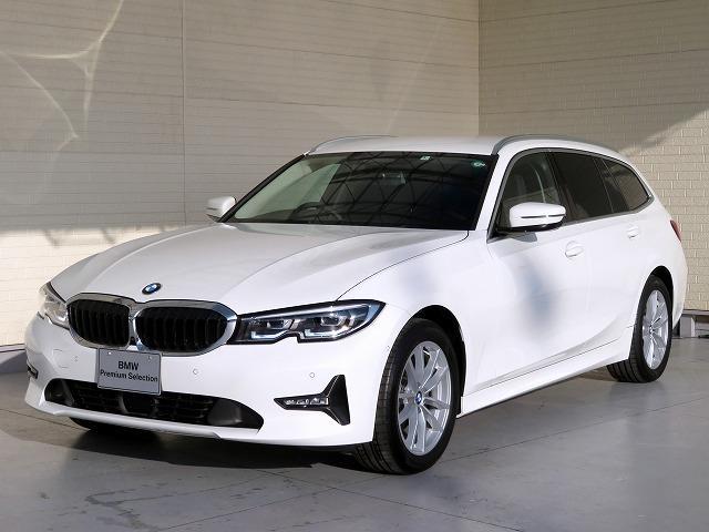 BMW 320d xDriveツーリングハイラインパッケージ コンフォートPKG LEDヘッドライト 17AW PDC オートトランク コンフォートアクセス ブラックレザー 純正ナビ iDriveナビ トップ リアビューカメラ 純正ETC Aクルコン 認定中古車
