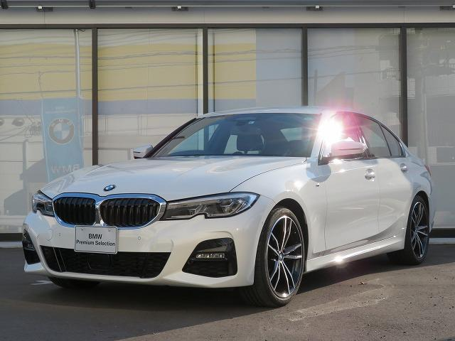 BMW 320d xDrive Mスポーツ コンフォートPKG レーザーライト PDC 19AW オートトランク コンフォートアクセス ブラックレザー 純正ナビ iDriveナビ リアビューカメラ HUD 純正ETC Aクルコン 認定中古車