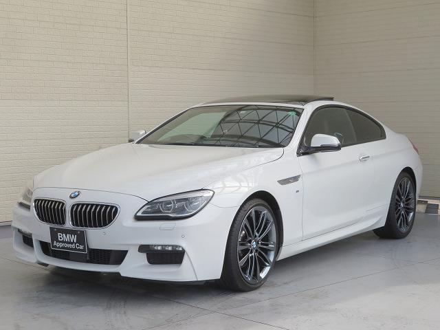 BMW 6シリーズ 640iクーペ Mスポーツ MS LEDヘッドライト 20AW PDC コンフォートアクセス ブラウンレザー マルチディスプレイメーター 純正ナビ iDriveナビ リアビューカメラ HUD 純正ETC Aクルコン 認定中古車