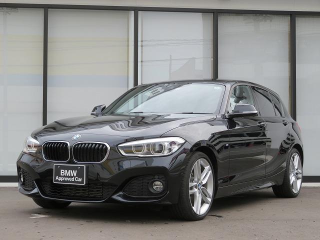 BMW 118d Mスポーツ MS コンフォートPKG LEDヘッドライト 18AW パーキングサポートPKG リアPDC 純正ナビ iDriveナビ リアビューカメラ 純正ETC クルーズコントロール 車線逸脱 認定中古車