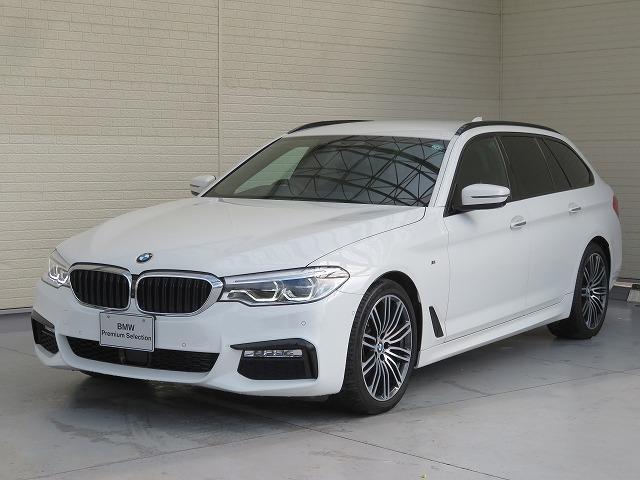 BMW 523dツーリング Mスポーツ ハイラインパッケージ LEDヘッドライト 19AW PDC オートトランク コンフォートアクセス 黒革 純正ナビ フルセグ ACC ストップ&ゴー レーンチェンジ&ディパーチャーウォーニング 認定中古車
